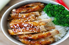 Teriyaki-món gà nấu với Coca trong nồi cơm điện