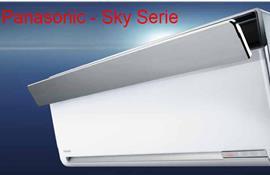 Sky Serie: dòng máy lạnh Panasonic cao cấp với inverter kiểu mới