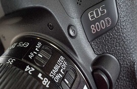 """Lý do gì làm cho Canon EOS 800D trở nên """"lặng lẽ""""?"""