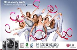 6 Motion DD – công nghệ giặt 6 bước chuyển động của máy giặt LG