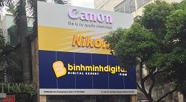 Thông báo chuyển trụ sở mới BINHMINHDIGTIAL tại 110 Điện Biên Phủ Q1 Tp.HCM