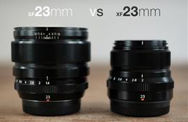 Nên chọn ống kính Fujinon XF 23MM F2 WR hay Fujinon XF 23MMF1.4 R