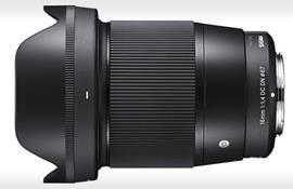 Sigma công bố ống kính góc rộng 16mm f/1.4 đầu tiên cho máy ảnh Sony E-mout