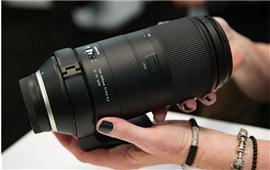 Lựa chọn mới với ống kính Tamron 100-400 mm F4.5-6.3 Di VC USD