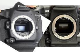 So sánh tính năng chụp liên tục của Canon 1D X Mark II và Nikon D5