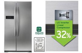LG ra mắt dòng tủ lạnh Linear Inverter siêu tiết kiệm điện