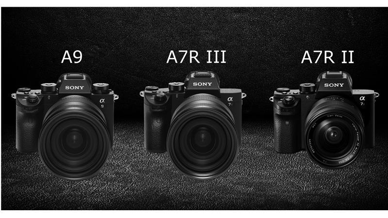 Đại chiến nhà Sony: Sony A9 vs A7R Mark III vs A7R Mark II