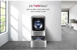 LG tung ra dòng máy giặt TwinWash thế hệ mới