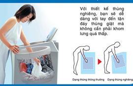 Tính ưu việt của loại máy giặt lồng nghiên