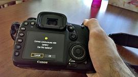 Những sự cố thông thường trên máy ảnh