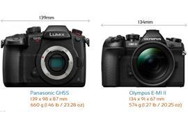 So sánh Panasonic GH5s và Olympus OM-D E-M1 Mark II