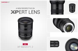 Samyang giới thiệu ống kính XP 50mm F1.2 hỗ trợ cảm biến 50MP và quay phim 8K