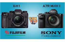 Chọn Fujifilm X-H1 hay Sony A7R Mark II?