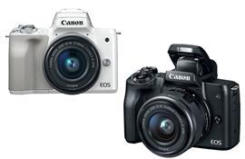 Canon bất ngờ ra mắt máy ảnh EOS M50: quay phim 4K với cảm biến 24MP