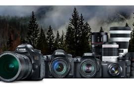 Tổng hợp các dòng máy ảnh Canon chuyên nghiệp
