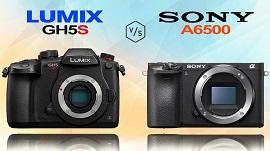 So sánh Panasonic GH5s và Sony A6500