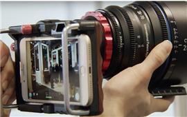 Ngàm chuyển giúp sử dụng ống kính máy ảnh trên điện thoại thông minh