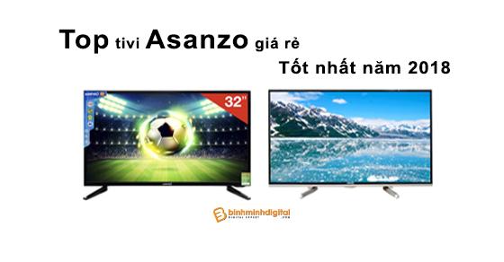 Top tivi Asanzo giá rẻ tốt nhất năm 2018