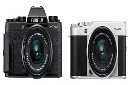 So sánh máy ảnh Fujifilm X-T100 và Fujifilm X-A5