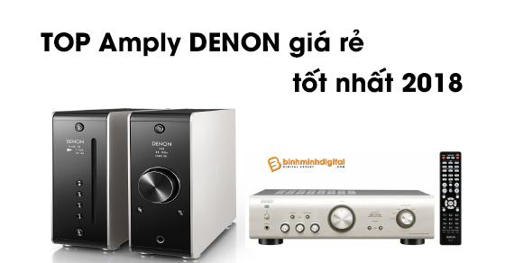 Top Ampli denon giá rẻ tốt nhất 2018