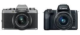 Fujifilm X-T100 và Canon EOS M50
