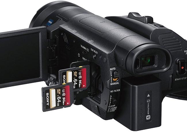 Máy quay Sony 4K HDR FDR-AX700