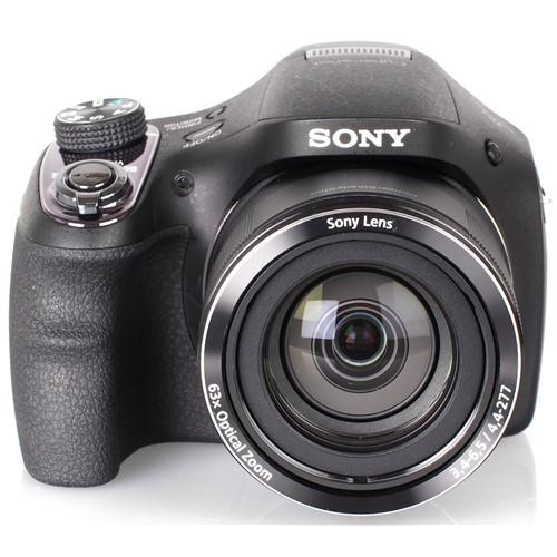 Máy Ảnh Sony CyberShot DSC H400 (Đen)