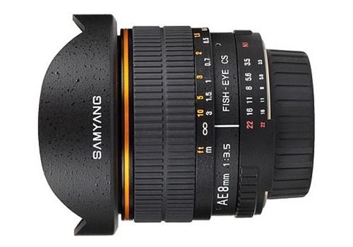 Ống Kính Samyang 8mm f/3.5 Asph IF MC Fisheye CSII