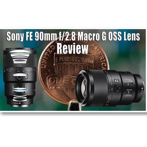 Ống Kính Sony FE 90mm F2.8 Macro G OSS (SEL90M28G)