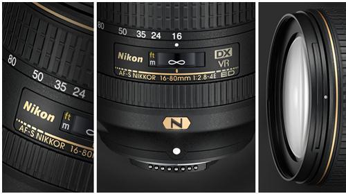 Ống Kính Nikon AF-S DX NIKKOR 16-80mm f/2.8-4E ED VR