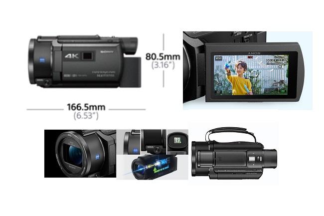 Máy Quay Sony Handycam FDR- AXP55 4K
