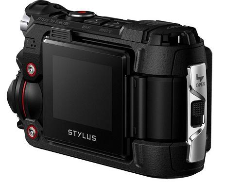 Máy quay hành động Olympus TG-Tracker (Đen)