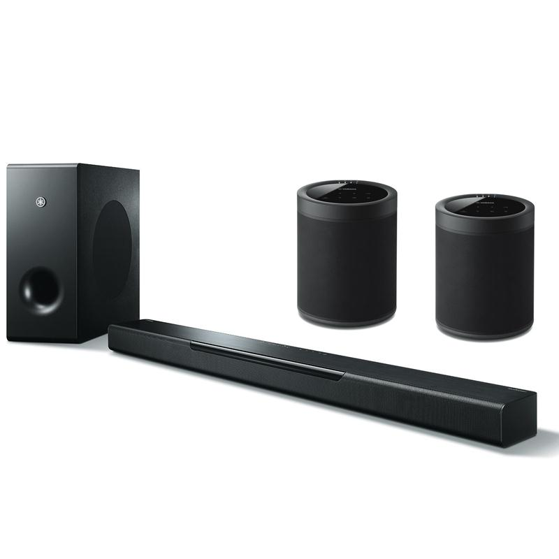 b loa yamaha musiccast soundbar 5 1 loa yamaha yas 408. Black Bedroom Furniture Sets. Home Design Ideas