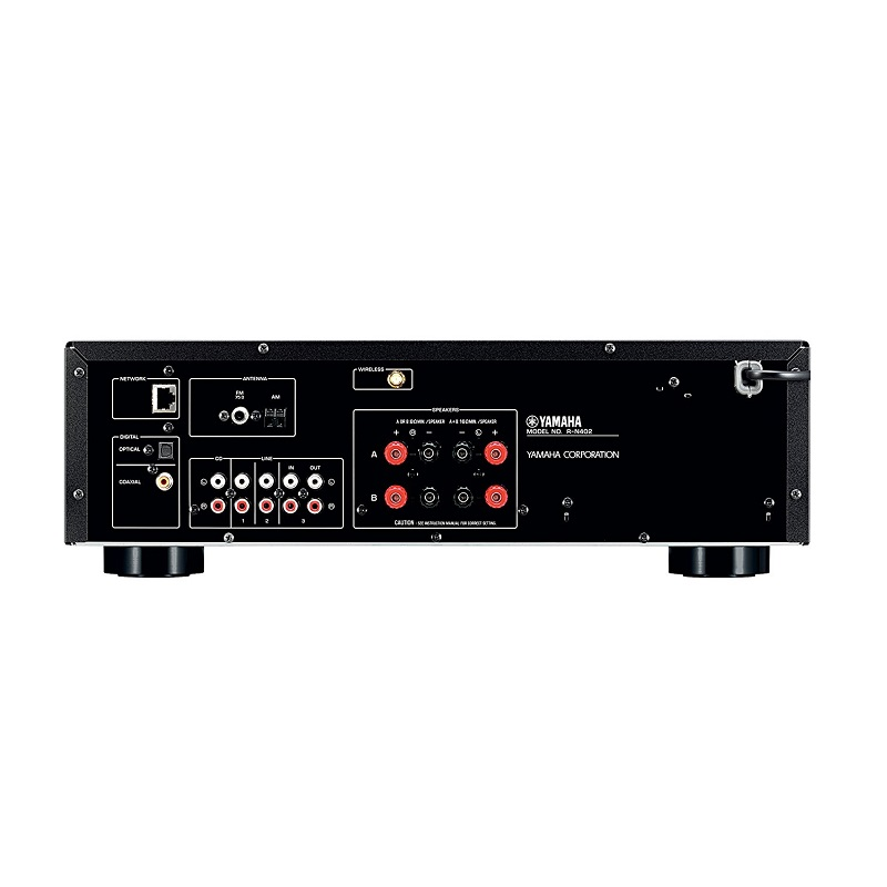 amply yamaha r n402 network receiver ch nh h ng gi t t. Black Bedroom Furniture Sets. Home Design Ideas